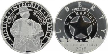 USA, 1 Dollar 2015 U.S.-Marshal, U04-x05, Seite 23.