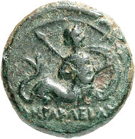Lot 1085: HERACLEA (Lucania). AE, 380-281. Very fine. Estimate: 120,- euros.