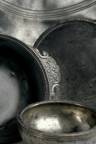 Silbergeschirr, Neupotz, 3. Jh. n. Chr. © Historisches Museum der Pfalz Speyer. Foto: Peter Haag-Kirchner.