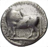 Fig. 3: Forgery of a stater from Sybaris.