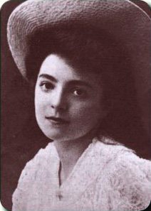 Nelly Sachs, um 1910. Quelle: Wikicommons.