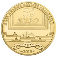 France / 50 Euros / Gold .920 / 8.45 g / 22 mm / Mintage: 500.