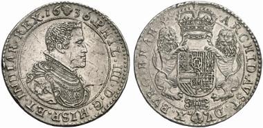 Spain. Philip IV. Double dukaton, 1636, Brussels. Auction sale Künker 154 (2009), 1531.