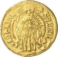 Lot 3043: BRANDENBURG IN FRANCONIA. John III, 1404-1420. Gold gulden n. d., Neustadt an der Aisch. Ex SBV Auction 15 (1986), 277. Unique. Very fine. Estimate: 10,000,- euros.