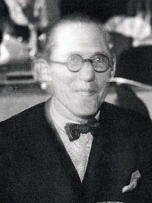 Charles-Édouard Jeanneret-Gris, known as Le Corbusier, 1933.