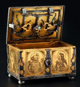 A significant miniature casket, Michel Mann, Nuremberg circa 1600. Starting price: 7,500 Euros.