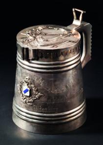 Silberhumpen, Geschenk zum 100-jährigem Jubiläum von 67 Tarutinsky Inf. Reg. Startpreis: 28.000 Euro.