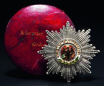 Prinz Albert von Sachsen-Coburg und Gotha - Orden vom Schwarzen Adler 1842. Startpreis: 10.000 Euro.