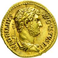 2071: Römisches Kaiserreich. Hadrianus. 117-138 n. Chr. Aureus.