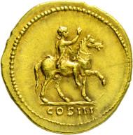 2071: Roman Empire. Hadrianus. 117-138 A.D. Aureus.