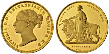 2030: Victoria, 1837-1901 5 Pounds 1839.