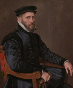 Portrait of Sir Thomas Gresham. Rijksmuseum Amsterdam. Source: Wikipedia.
