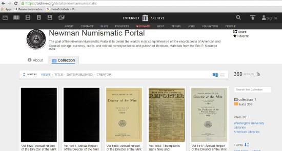 foto de New numismatic database being developed at Washington University ...