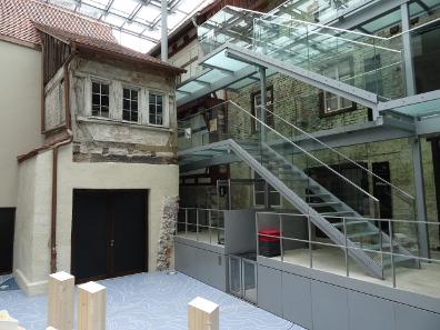 In Oberschwaben ist das Interesse für die Wirtschaftsgeschichte Tradition. So existieren in Ravensburg gleich zwei Museen zur Wirtschaftsgeschichte. Hier ein Blick in das Museum Humpis-Quartier, wo einst eine bedeutende Kaufmannsfamilie lebte. Foto: KW.
