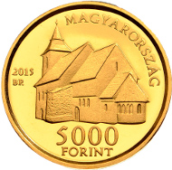 Hungary / 5,000 Forint / Gold .999 / 11 mm / 0.5 g / Design: Andreas Horváth / Mintage: 5,000.
