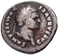 Abb. 5: Fälschung eines Denars des Domitianus.