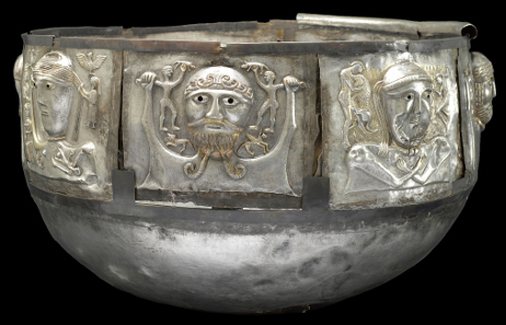 Gundestrup Cauldron. Silver. Gundestrup, northern Denmark, 100 BC-AD 1. © The National Museum of Denmark.