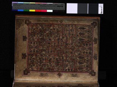St Chad gospels. Vellum. AD 700-800. Used by permission of the Chapter of Lichfield Cathedral.