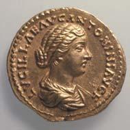 36 (46) RIC III, M. Aurelius 783. Lucilla, Aureus, Rom 164-169 n. Chr., Gewicht: 7,255 g. Vs: Gewandbüste der Mitkaiserin. Rs: Stehende Venus mit Apfel und Szepter.