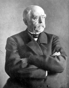 Chancellor Otto von Bismarck.
