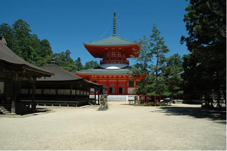 Danjo Garan-Tempelanlage in der Präfektur Wakayama.