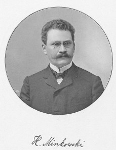 Hermann Minkowski, illustration in