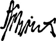 Signature of Ernst Articus.