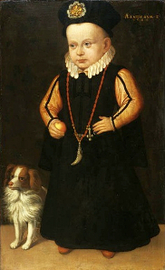The little Crown Prince Sigismund. By Johan Baptista van Uther. Source: Wikipedia.