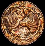 1 Euro Deutschland. © Landeshauptstadt Hannover, Museum August Kestner, Foto: Stephen Sack.