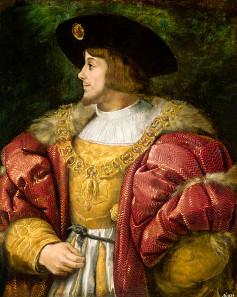 Louis II, King of Hungary and Bohemia (1506-1526).