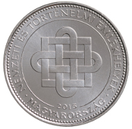 Hungary / HUF 50 / Cupro-Nickel / 27.4 mm / 7.7 g / Design: Istvan Kosa / Mintage: 2 million.