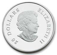 Beste Silbermünze: Kanada - 20 Dollars, Silber, Schneeflocke