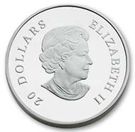Best Silver: Canada - 20 Dollars, silver, Crystal Snowflake