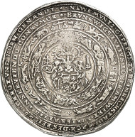 Brunswick and Lüneburg. Julius, 1568-1589. Löser of 10 reichstaler 1574, Heinrichstadt (Wolfenbüttel), minted at a weight of 9 reichstaler. Nominal value engraved. Estimate: 10,000 GBP.