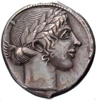 Fig. 8: Forgery of a Leontinian tetradrachm.