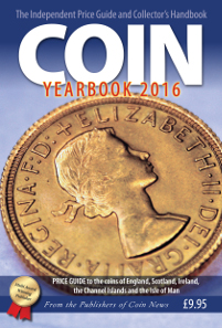 John Mussell, COIN YEARBOOK 2016. Token Publishing Ltd, Devon/UK, 2015. 364 pages. Soft bound. ISBN: 978 1 908828 26 2. GBP 9.95.