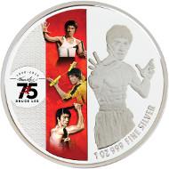 Legend of JKD. Singapore / 2 Dollars / Silver .999 / 31.10 g / 40.70 mm / Mintage: 6,000.