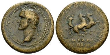 Antoninus Pius, 138-161 Medallion 139. Gnecchi - cf 36 and Pl. 46, 8. Very Rare. Very Fine/About Very Fine. Starting Bid: £450.