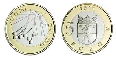 Finnland. 5-Euro. Mintage: 30.000 - 9.8 g - 27.25 mm - Designer: Nora Tapper.
