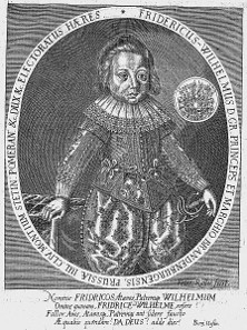 Frederick William, engraving dating from 1626.
