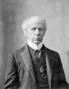 Wilfried Laurier, Canada's Prime Minister 1896-1911.