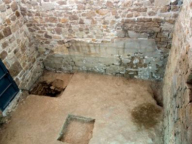 Innenansicht des Hauptraums des Banketthauses. Quelle: Deutsches Archäologisches Institut.