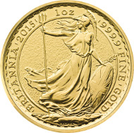 UK / 100 Pounds / Gold .9999 / 31.21 g / 32.69 mm / Design: Ian Rank-Broadley FRBS (observe) and Philip Nathan (reverse).