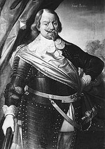 Contemporary portrait of Swedish Field Marshal Johan Banér.