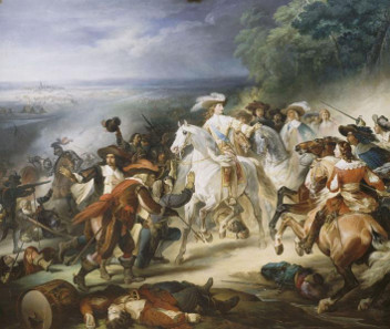 François Joseph Heim, Battle of Rocroi 1643, 1834.