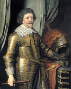 Michiel van Mierevelt, Portrait of Frederick Henry of Orange, 1632/1640.