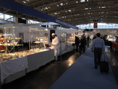 Many exhibitors and visitors of the Munich Show are actually not from Germany. Photograph: KW.