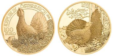 Austria / 100 euros / Silver .986 / 16 g / 30 mm / Design: Thomas Pesendorfer and Helmut Andexlinger / Mintage: 30,000.