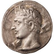 Nr. 1: Qart Hadasht oder Karthago Nova (Hispania). Dreifacher Shekel, ca. 221-210/09 v. Chr. CNH 12. Aus NGSA 5 (2008), 161. Eines von fünf bekannten Exemplaren. Gutes sehr schön. Taxe: 100.000,- SFr.