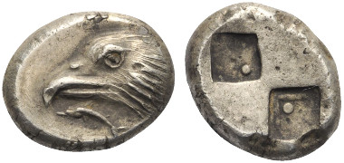 Lot 102: PAPHLAGONIA. Sinope (ca. 425-410 BC). Drachm.